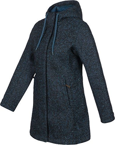 Tatonka Mujer Jemma W 'S Coat Mantel dark sea blue