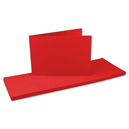 Tarjetas Plegables DIN A6 largas de Doble Tarjeta -10,5 x 14,8 cm ...