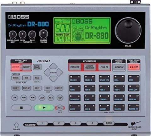Boss DR-880 Dr. Rhythm Drum Machine (880 Drum Machine)