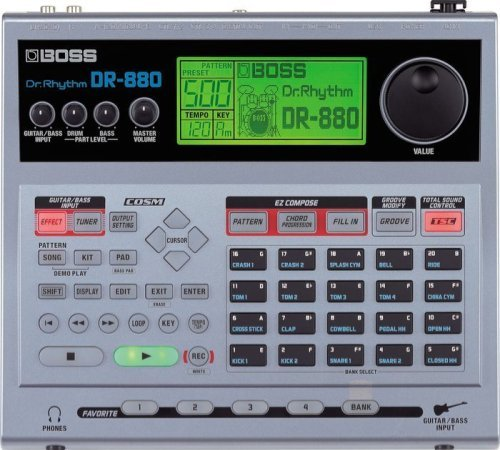 880 Usb - Boss DR-880 Dr. Rhythm Drum Machine