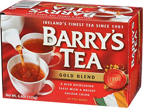 Barrys Gold Blend Tea Bags, 80 Count, 8.8 Ounce (Pack of 6) by Barry's Tea (Image #4)