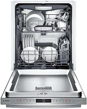 Bosch SHX878WD5N 800 Series Built In Dishwasher with 6 Wash Cycles, 3rd Rack, Delay Start, RackMatic in Stainless Steel