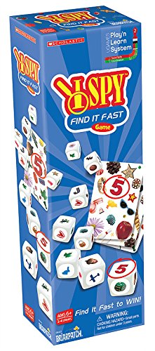 I SPY Find It Fast Game (Ispy Board Game)
