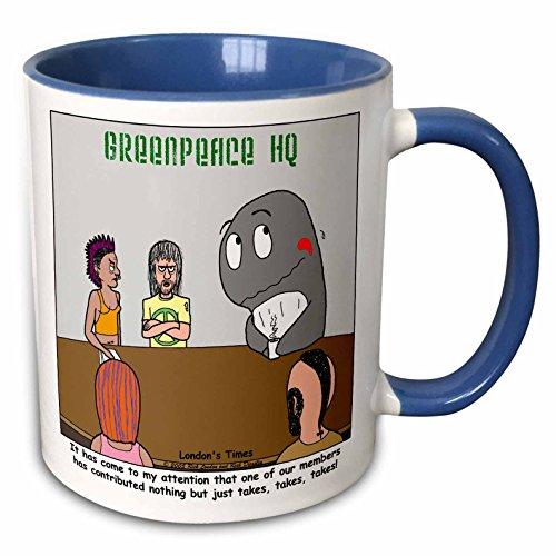 3drose-rich-diesslins-funny-animals-cartoons-problems-at-greenpeace-whale-11oz-two-tone-blue-mug-mug