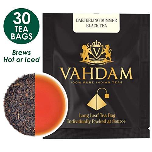 Darjeeling Tea Leaves from the Himalayas, 15 Tea Bags  Long