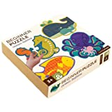 Petit Collage Beginner Jigsaw Floor Puzzle, Ocean Babies