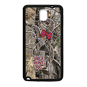CMGOODS Lovely Browning Cutter Realtrees Real Tree Camo Case Cover Sleeve Protector for Phone Samsung Galaxy Note 3 (Laser Technology)