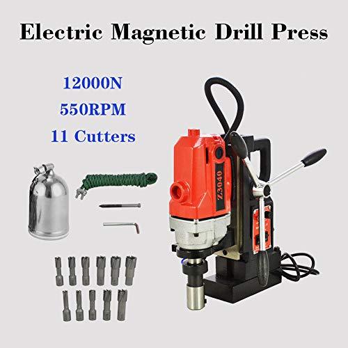 110V MD40 11pcs Magnetic Drill Presses Drills 1 HSS Cutter Set Annular Cutter Kit
