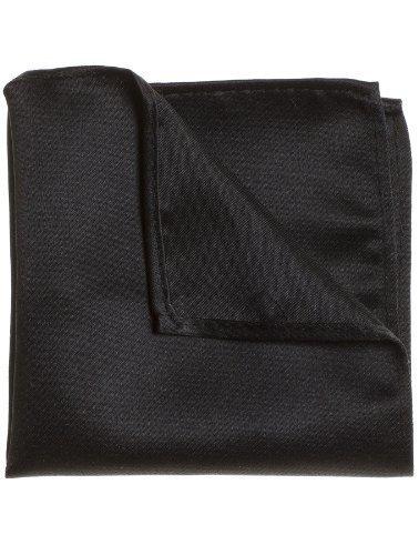 Paisley of London, Plain black pocket square, Pocket handkerchief