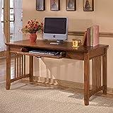 Ashley Furniture Signature Design - Cross Island Home Office Desk - 60 in - Rectangular - Medium Brown