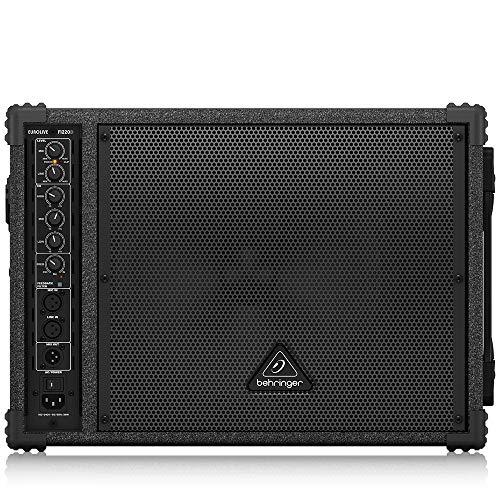 BEHRINGER F1220D Bi-Amped 250-Watt Monitor Speaker System with 12