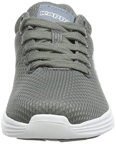 Kappa Baskets Trust Mixte White Adulte Basses Unisex Footwear Gris Grey ZqZRBOwr