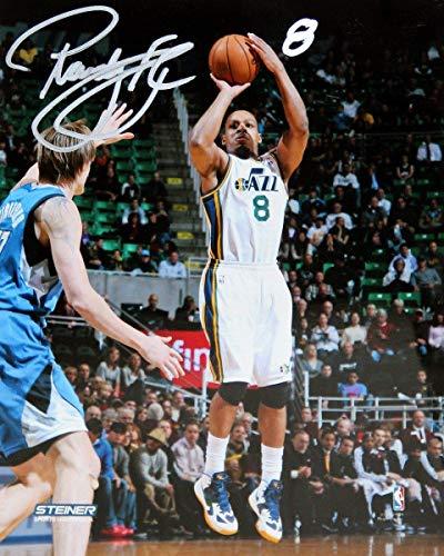Randy Foye Utah Jazz Shooting Three-Pointer Signed 8x10 Photo - Steiner Sports Certified - Autographed NBA Photos
