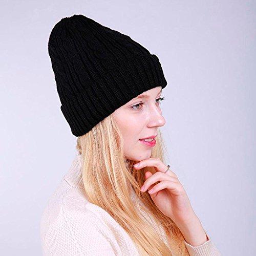 OHQ semplice cappello di lana della lana della ragazza 9643ae4f7cd0