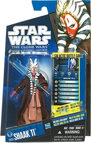 Star Wars 2010 Clone Wars Animated Action Figure CW No. 31 Shaak Ti (Star Wars The Clone Wars Shaak Ti)