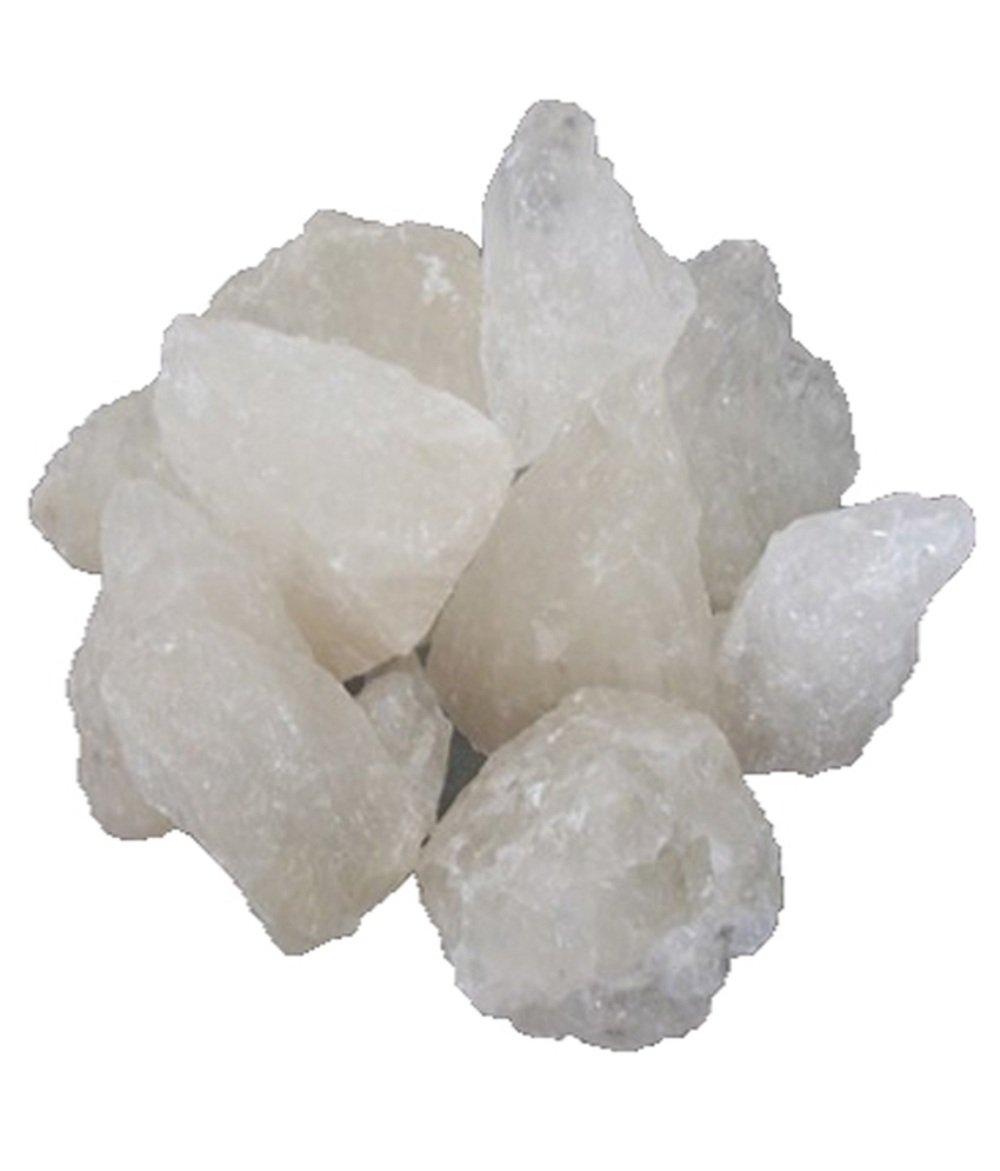 Bulk - Stone of Alumbre - Phitkari - White Alum - Natural Piedra de Alumbre Alum Stone - 5000g - 5 Kg