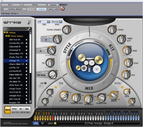 Digidesign Strike Virtual Drummer Plug-In for Pro Tools Systems - OS X and XP - RTAS
