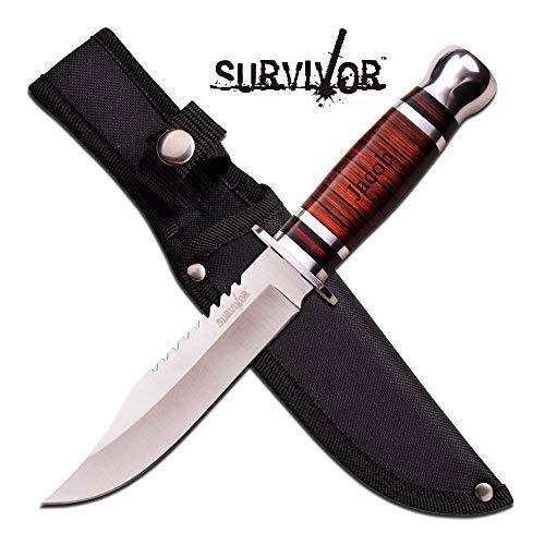 Survivor Personalized Free Engraving Elk Ridge Fixed Blade Knife