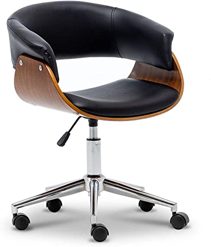 Paddie Office Chair Task Executive Computer Desk Chair Mid-Century Swivel Adjustable Modern