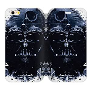 New Fashion Handsome Domineering Skull Star Wars Iphone 6 4.7 Case Shell Cover (Laser Technology)