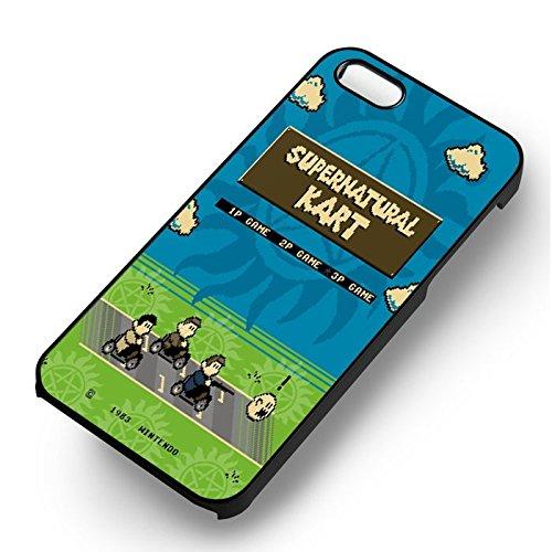 SPN Kart pour Coque Iphone 6 et Coque Iphone 6s Case (Noir Boîtier en plastique dur) L2P8TH