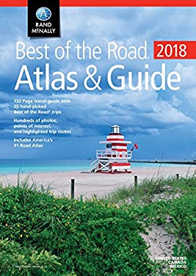 2018 Rand McNally Best of the Road Atlas & Guide