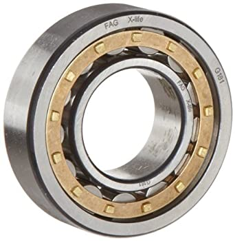 Straight Bore Metric 70mm ID FAG NU214E-M1-F1 Cylindrical Traction Motor Roller Bearing High Capacity Removable Inner Ring 125mm OD 24mm Width Single Row Normal Clearance