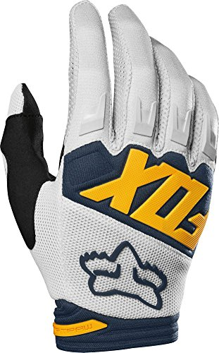 (2019 Fox Racing Dirtpaw Race Gloves-Light Grey-XL)