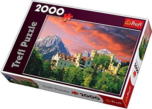 (Trefl The Hohenschwangau Castle Jigsaw Puzzle (2000 Piece) by Trefl)