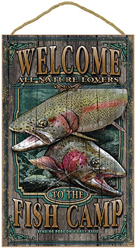 Trout Welcome Sign - 3