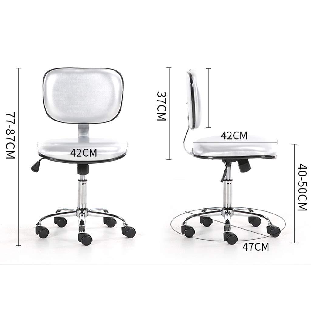 Kontorsstolar svängbara skrivbordsstolar, 130 graders avslappnande justering, bekvämt tjockt ryggstöd hög densitet svamp nr 4