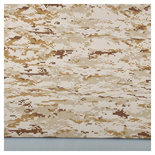 Digital Desert Camo Camouflage Cotton Blend Army Military 60