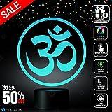 Holinox Om Symbol Lighting Decor Gadget Lamp, Awesome Gift (MT031)