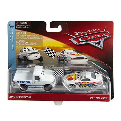 Disney Cars Character Race Starter & Pace Car Toy Vehicle (2 Pack)