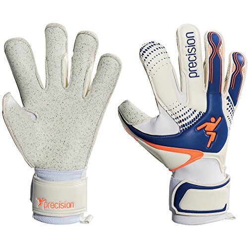Surround Goalkeeper Glove (Precision GK Fusion-X Quartz Surround Grip Goalkeeper Gloves Size 10.5)
