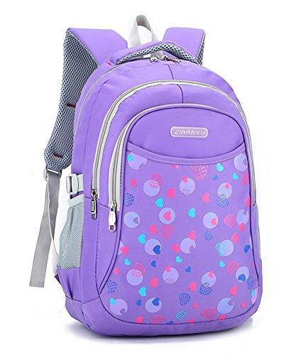 Bookbag for Elementary School Girls and Boys Water Proof Bookbag Big Student Classics Backpack