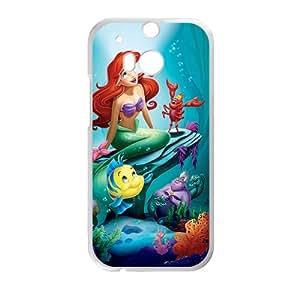 Mermaid Under Sea White HTC M8 case