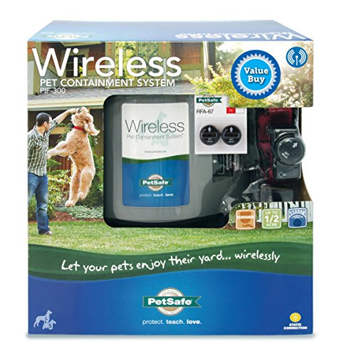 PetSafe Wireless Fence (PIF-300) with Extra Battery Pack - PIF-300-XBAT