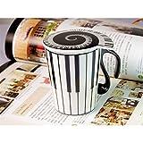 MUSIC SALES MUG PIANO MOTIV WITH LID Mugs & cooking items