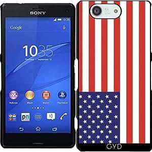 Funda para Sony Xperia Z3 Compact - Bandera Estadounidense by Tom Hill