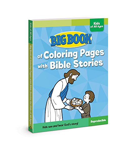 Big Book of Coloring Pages with Bible Stories
