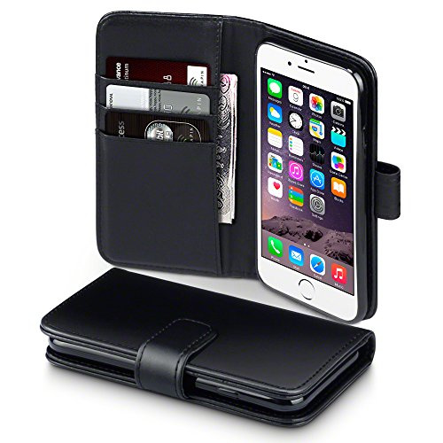 Terrapin Real Leather Flip Wallet Holster Cover Case for Apple iPhone 6/6S...