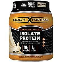 Body Fortress Super Advanced 100% Protein Isolate, Vanilla, 1.33 Pounds