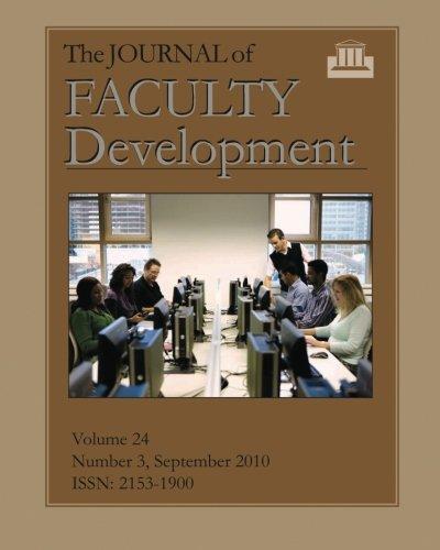 journal of faculty development - 6
