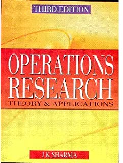 Operations Research Problems And Solutions By Jk Sharma Pdf