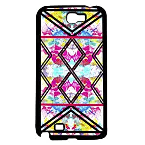 meilz aiaiColorful Floral and Black Tribal Print Pattern Hard Snap on Phone Case (Note 2 II)meilz aiai
