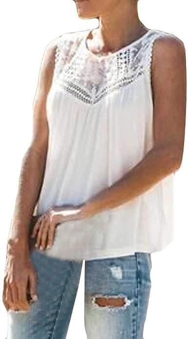 Women Summer Chiffon Sleeveless Leopard Mesh Loose Vest VNeck Cami Soft Tank Top