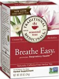 Tradional Medicinals Breathe Easy Tea 16 Bags .85oz