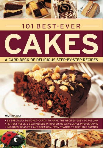101 Best-Ever Cakes: Special stand-up cards to make the recipes easy to follow by Martha Day
