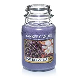 Yankee Candle Company Lavender Vanilla Large Jar Candle